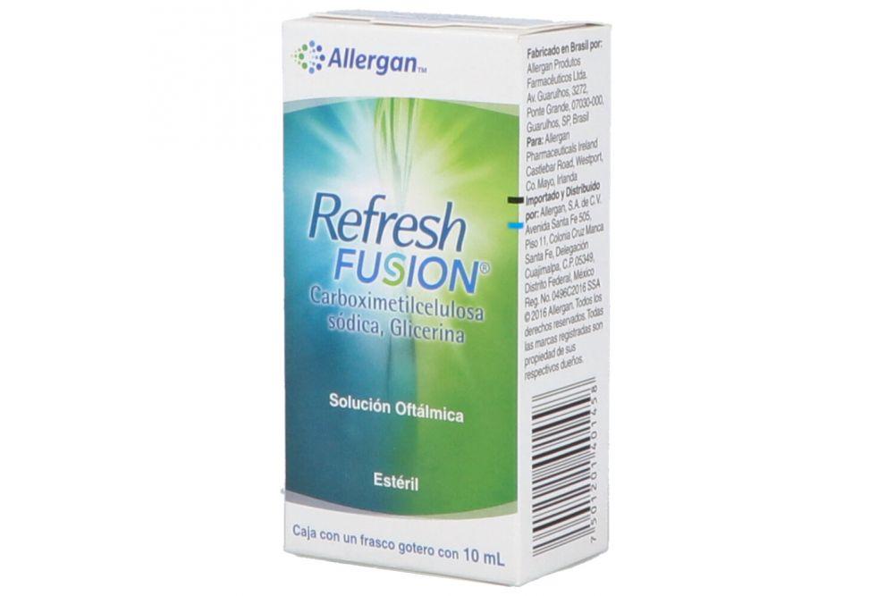 Refresh Fusion, Caja Con un Frasco 10mL