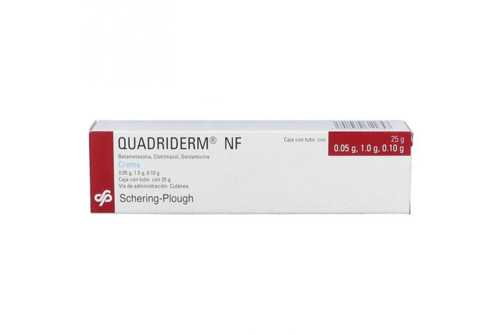Quadriderm-NF Caja Con Tubo Con 25g