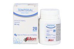 Temperal 500 mg Caja Con Frasco Con 20 Tabletas