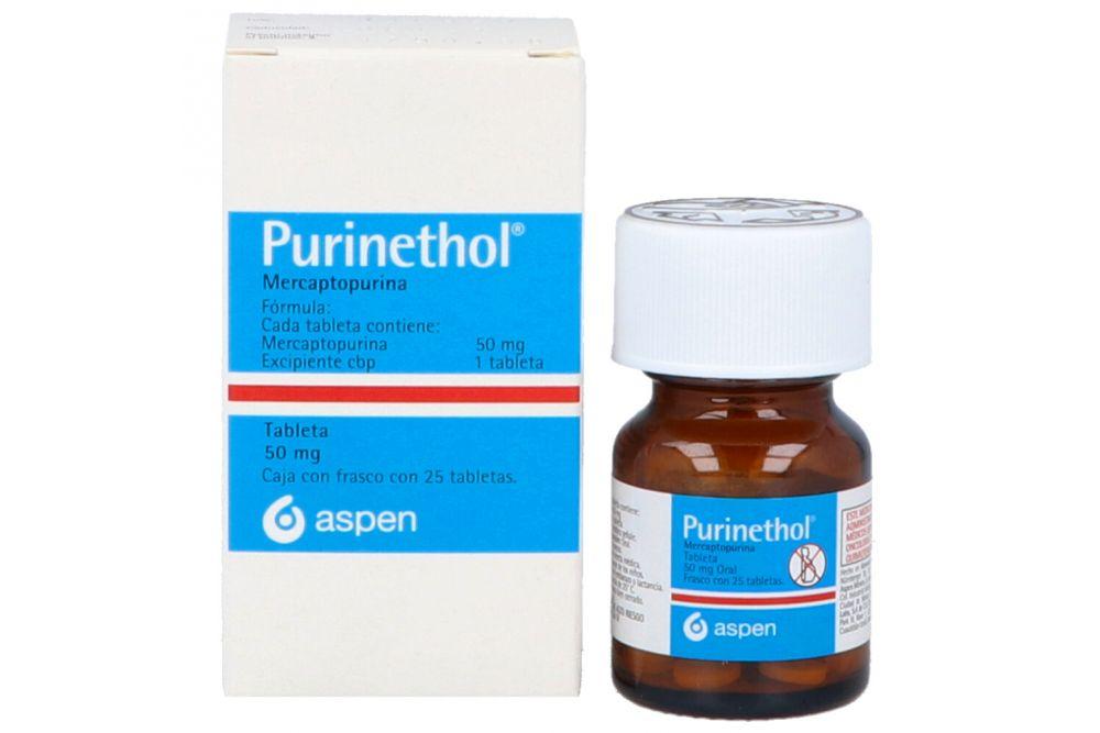 Purinethol 50 mg Con 25 Tabletas