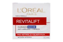 L´oreal Revitalift Crema Noche Caja Con Tarro Con 50 mL