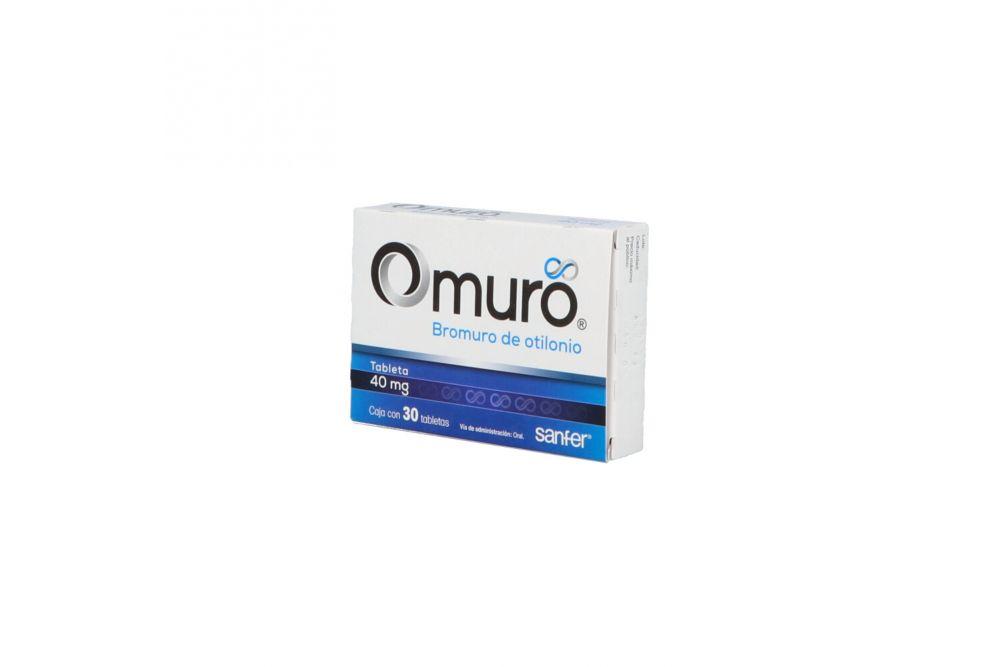 Omuro 40 mg Caja Con 30 Tabletas