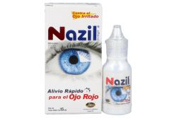 Nazil Ofteno 1 mg/mL Caja Con Frasco Gotero Con 15mL