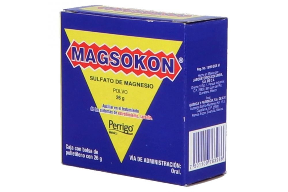 Magsokon Bolsa De Polietileno Con 26 g En Sobre