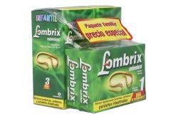 L-ombrix Paquete Familiar Empaque Con 2 Cajas Con 1 Tableta y Caja Con Frasco Con 30 mL