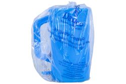 Irrigador Damaco Plástico Frasco Bolsa Con 1 Pieza