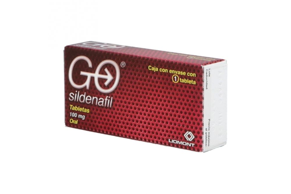 Go 100 mg Caja Con 1 Tableta
