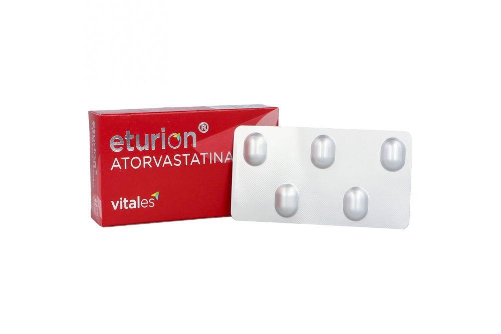 Eturion 20 mg Caja Con 15 Tabletas