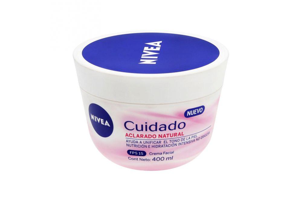 Crema Nivea Cuidado Aclar-Nat 40