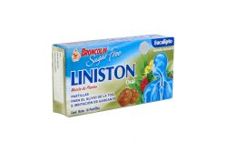 Broncolin Sugar-Free Eucalipto Caja Con 16 Pastillas Caramelo