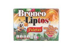 Bronco Liptos Caja Con 10 Paletas De 7g Cada Una