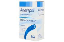 Anaseptil 0.040 / 0.150 g Solución Caja Con Frasco Con 120 mL