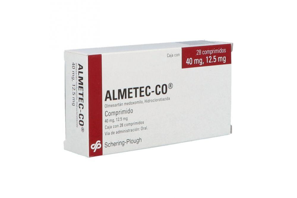 Almetec-Co 40 mg/12.5 mg Caja Con 28 Comprimidos