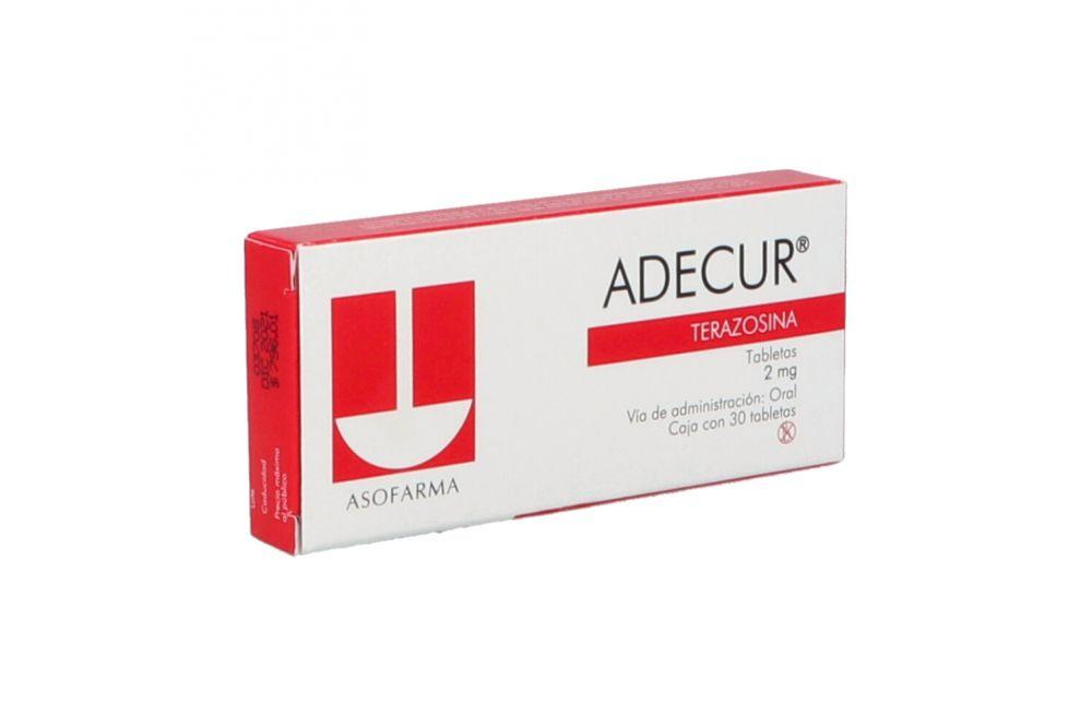 Adecur 2mg Caja Con 30 Tabletas