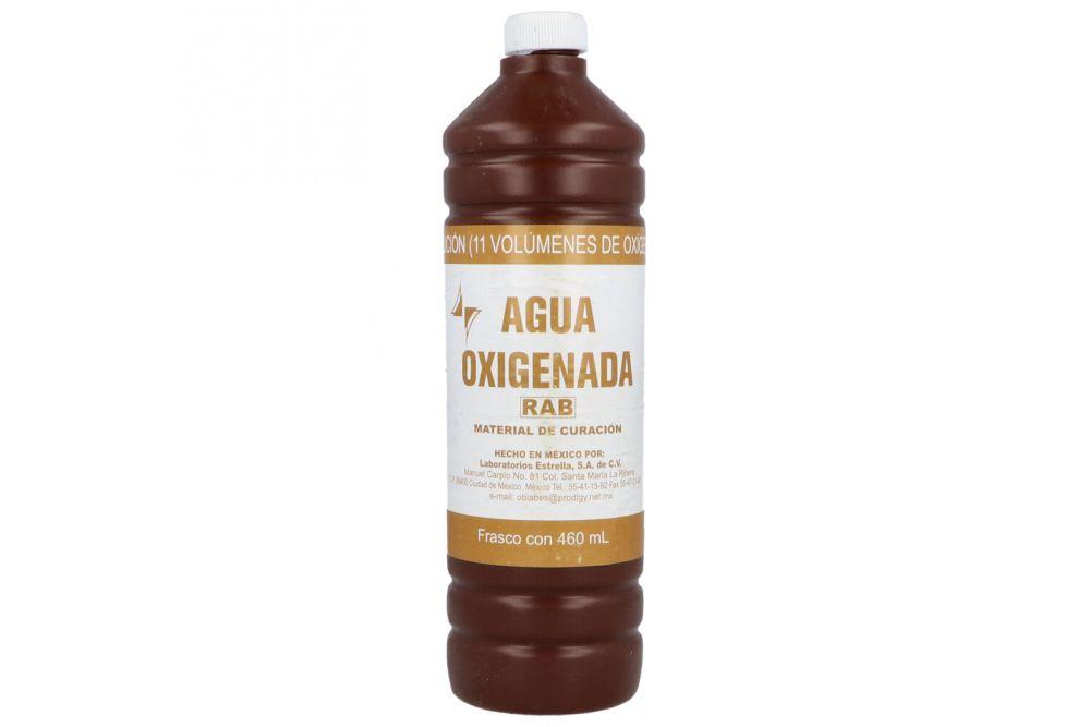 Agua Oxigenada Rab 460 ml.