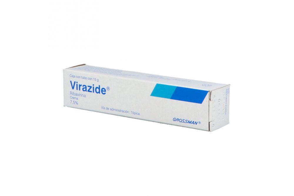 Virazide Crema 7.5% Caja Con Tubo Con 15 g