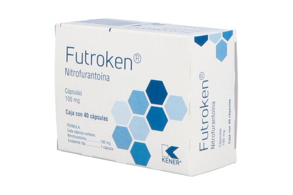 Nitrofurantoína 100 mg Caja Con 40 Tabletas -RX2