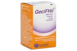 Gecifhil Caja Con Frasco Ámpula Con Liofilizado Con 50 mg