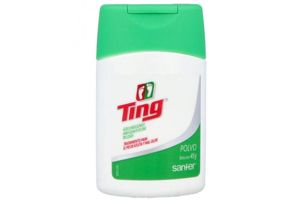 Ting Polvo Frasco Con 45 g