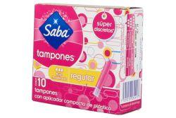 Saba Tampones Caja Con 10 Tampones