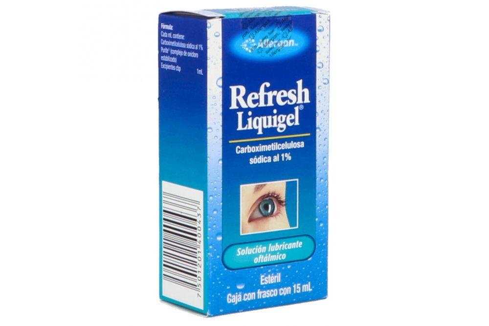 Refresh liquigel 1% Con Un frasco 15mL