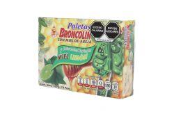 Paletas Broncolin Con Miel De Abeja 100 g  Caja Con 13 Paletas