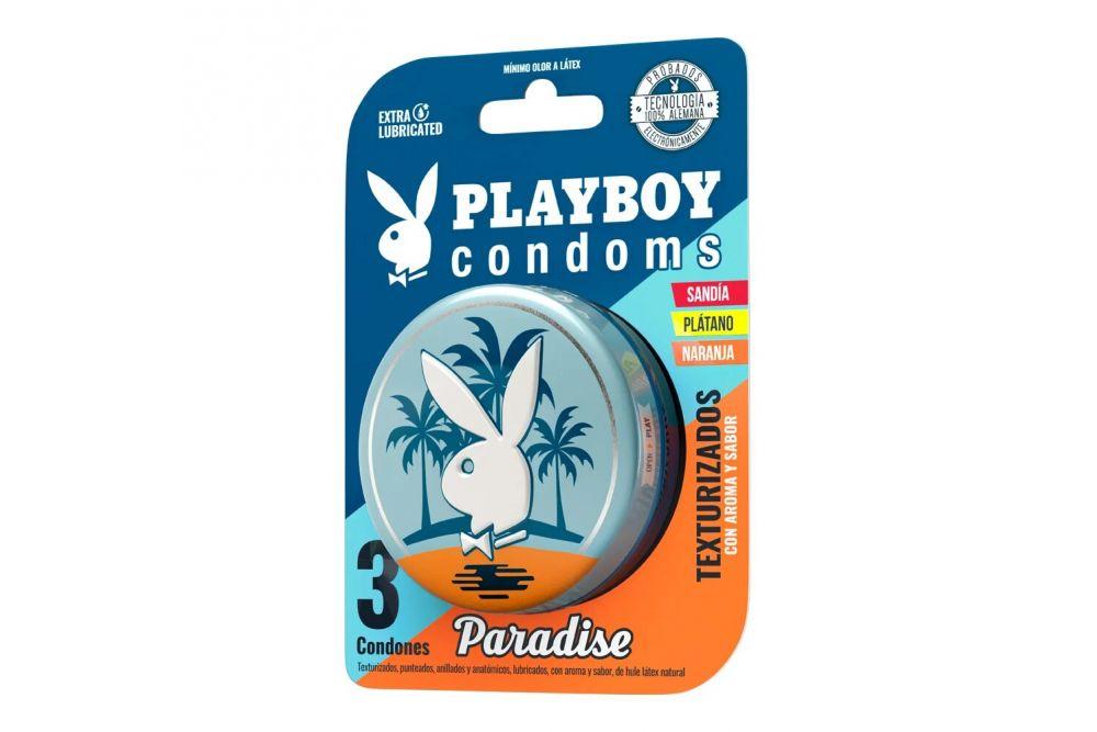Preservativo  Playboy Paradise Tex C
