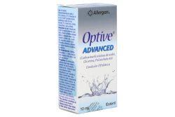 Optive Advanced Solución Oftálmica Estéril Caja Con Frasco Con 10 mL