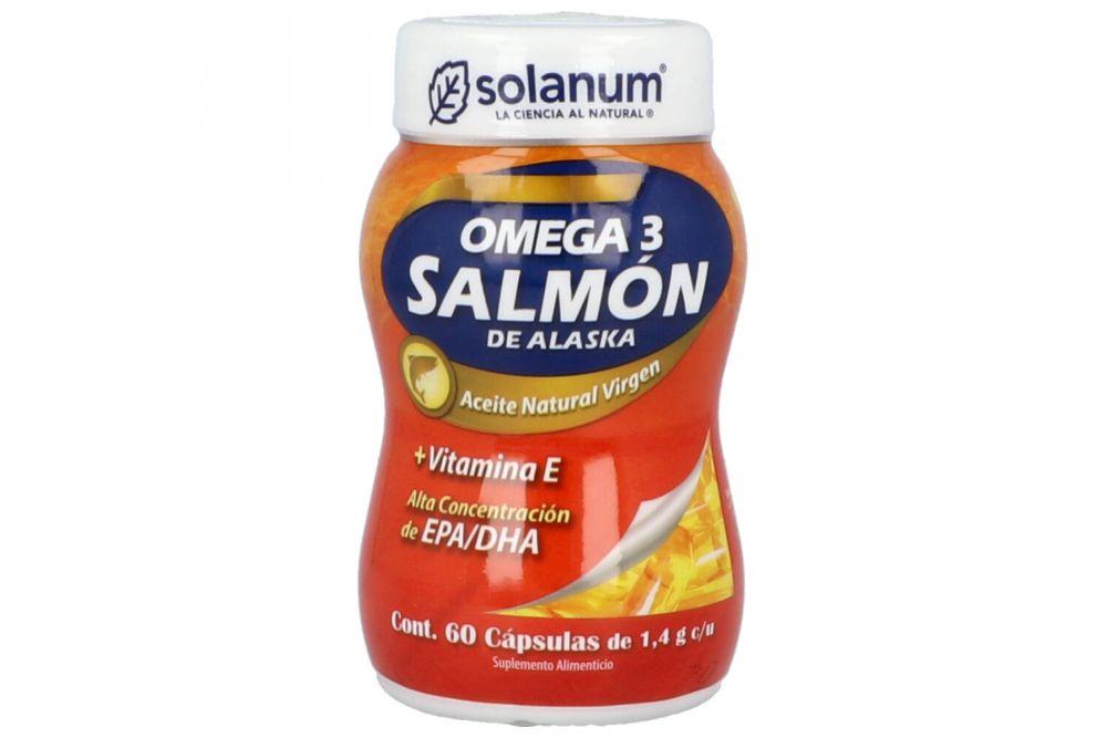 Omega 3 Con Un Frasco Con 60 Softgels