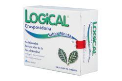 Logical Caja Con 10 Sobres Con 2 g Cada Uno Sabor Menta