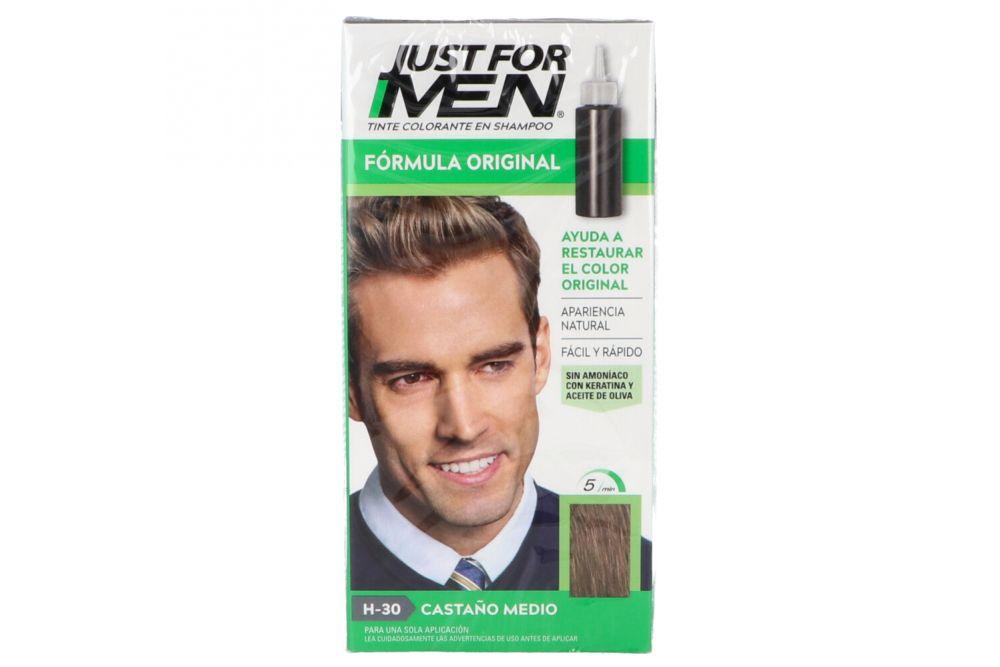 Just For Men Castaño Medio Caja Con Frasco Con 60 mL