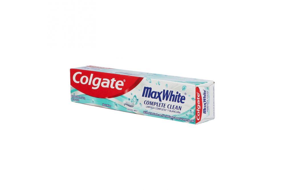 Crema Dental Colgate Max White Caja Con Tubo Con 100 mL