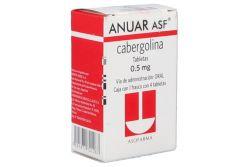 Anuar Asf 0.5 mg Caja con Frasco con 4 Tabletas