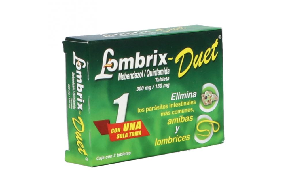 Lombrix Duet 300mg. 150mg. Tab
