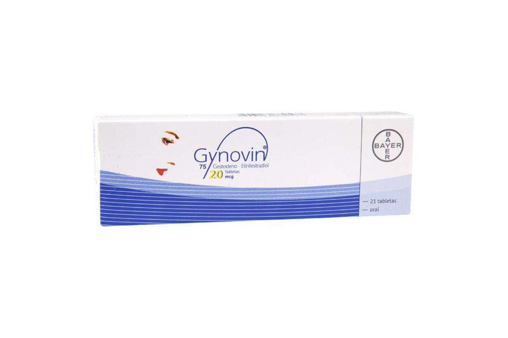 Gynovin 20 Mcg Caja Con 21 Tabletas