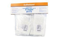 Sulfatiazol Polvo Paquete Con 25 Sobres Con 1 gr