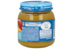 Gerber Papilla Frutas Mixtas 2Da Etapa Frasco Con 113 g