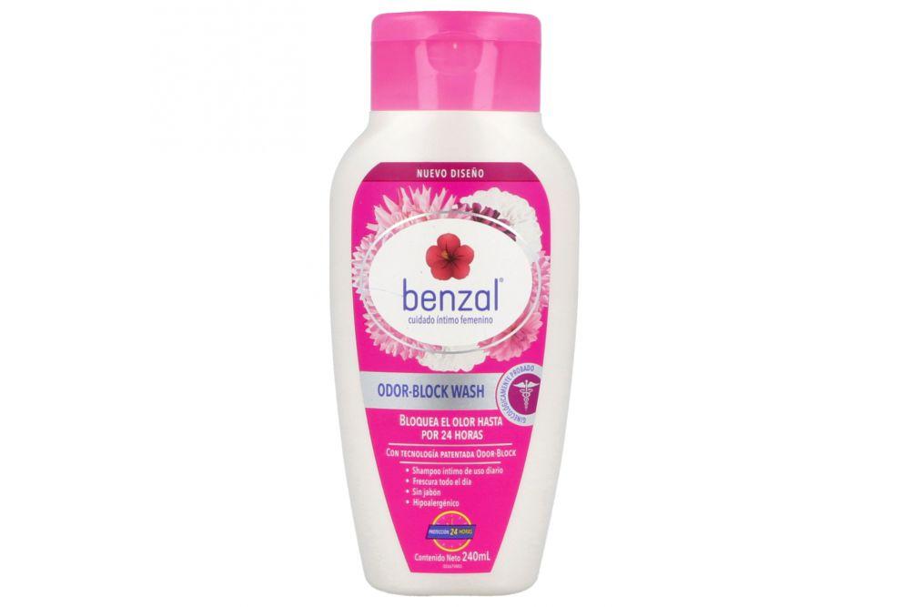 Benzal Odor Block Wash Botella Con 240 mL