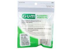 Palillos Gum Con Hilo Dental Bolsa Con 50 Piezas