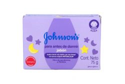 Jabón Johnson´s Baby Antes De Dormir Caja Con Barra De 75 mG