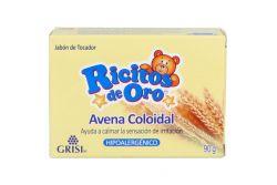 Jabón Ricitos De Oro Avena Coloidal Barra Con 90g Hipoalergénico
