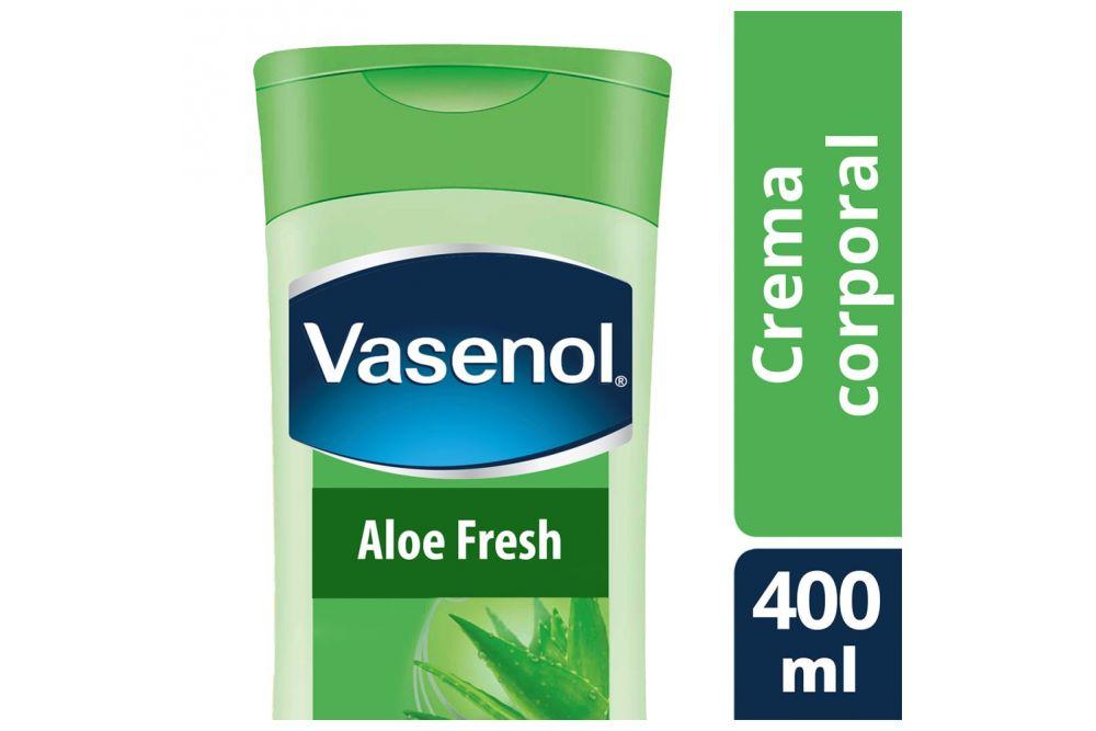 Vasenol Crema Cuidado Intensivo Aloe Vera Botella Con 400mL