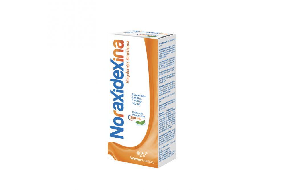 Noraxidexina Suspension Con 250 mL 80 mg/ 1 mg/ 1 mL