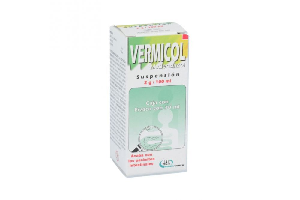 Vermicol 2 g Suspensión Con 30 mL