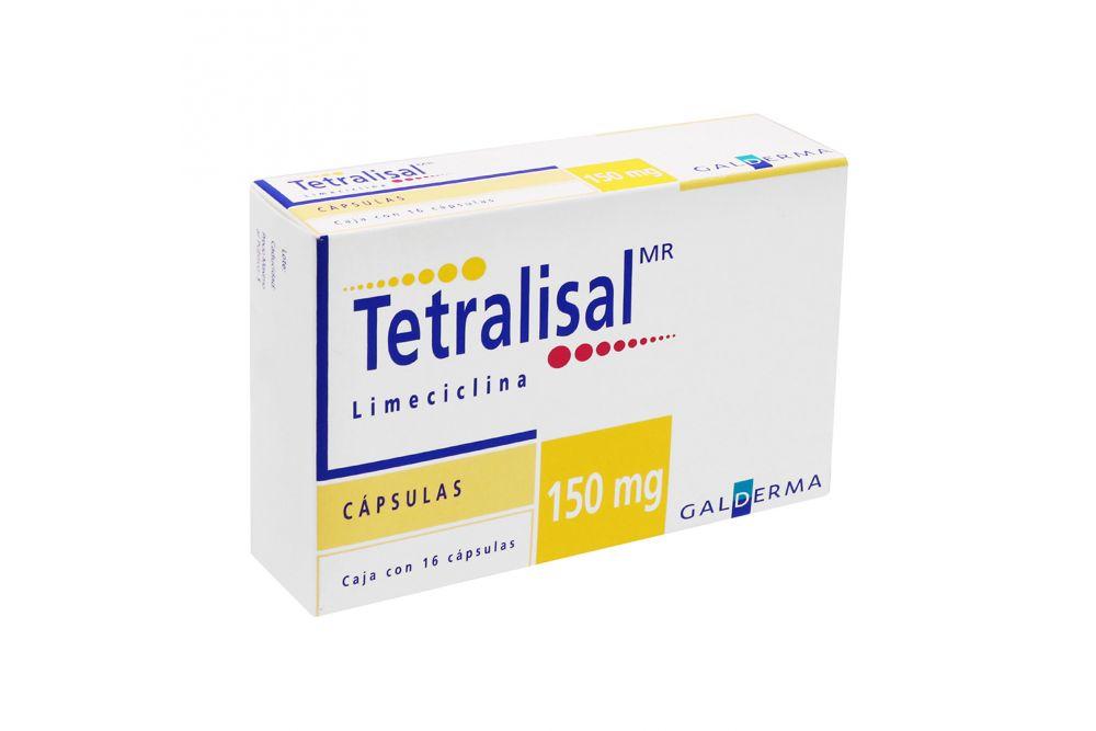 Tetralisal 150 mg Caja Con 16 Cápsulas RX2