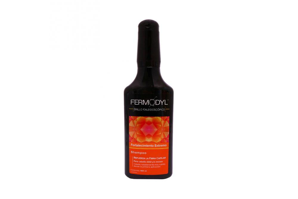 Shampoo Fermodyl Brillo Kaleidoscópio Botella Con 400 mL