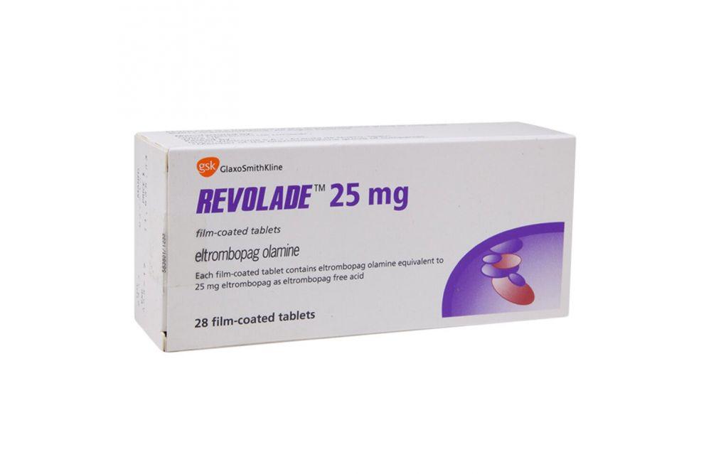 Revolade 25 mg Caja Con 28 Tabletas