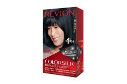 Revlon Colorsilk Tinte Permanente Sin Amoniaco 12 Negro Azulado