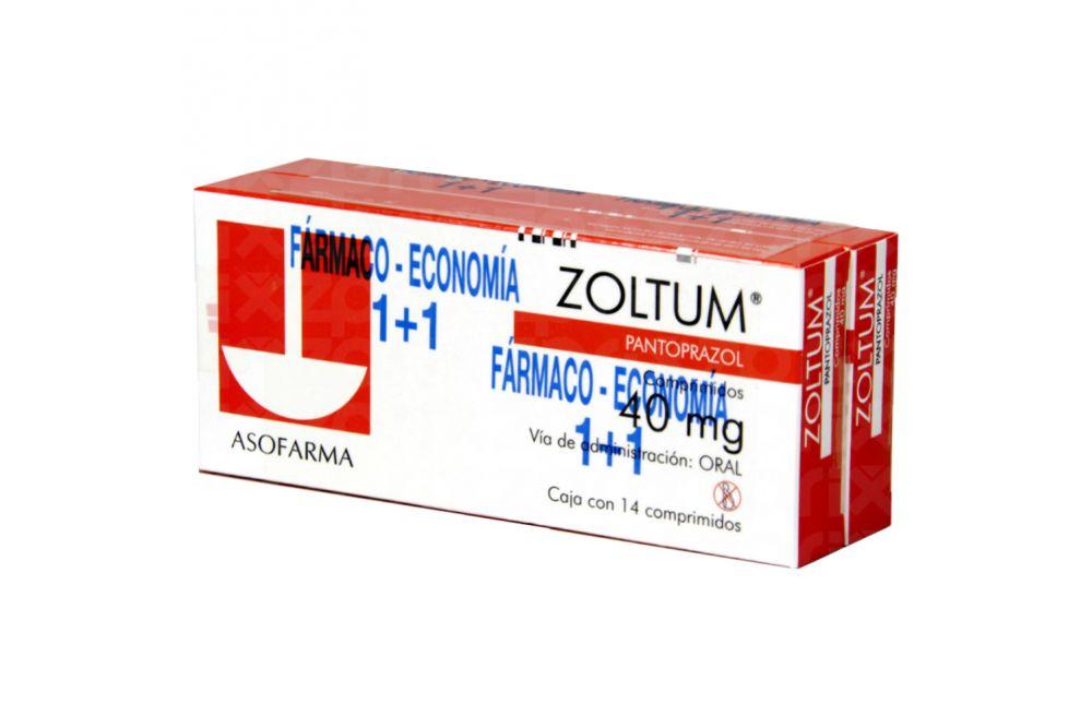 Zoltum 40 mg Caja Con 14 Comprimidos 2X1