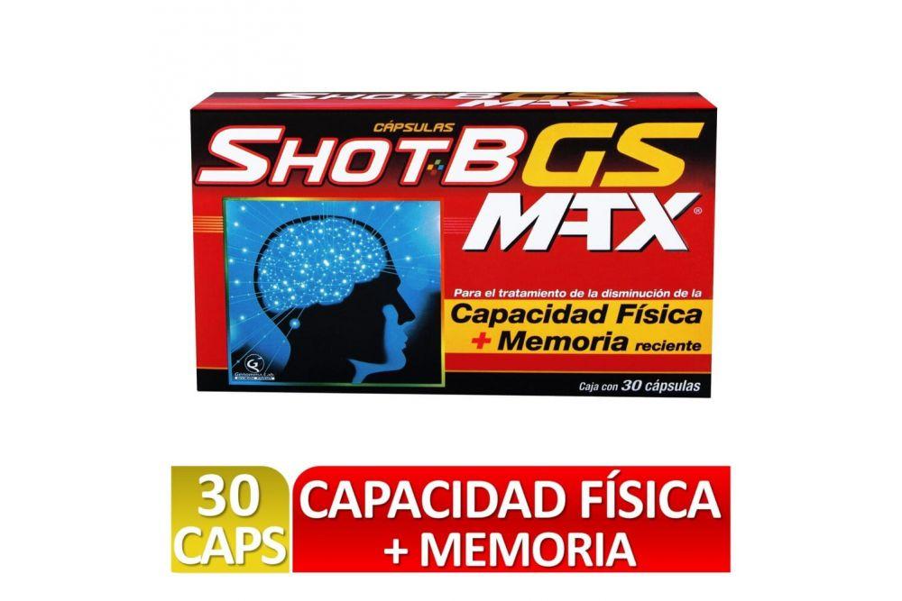 Shot B GS M-TX Caja Con 30 Cápsulas